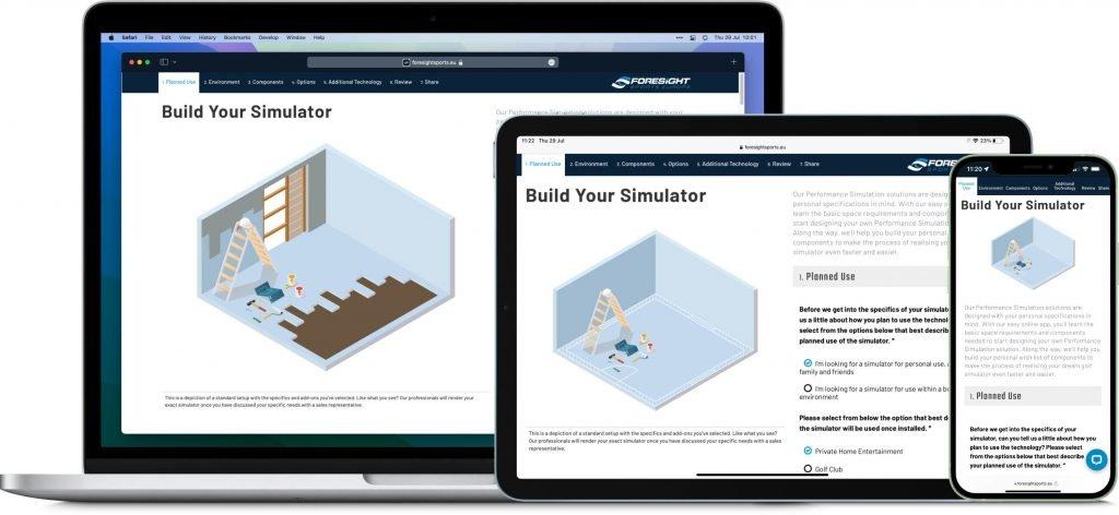 Build your golf simulator