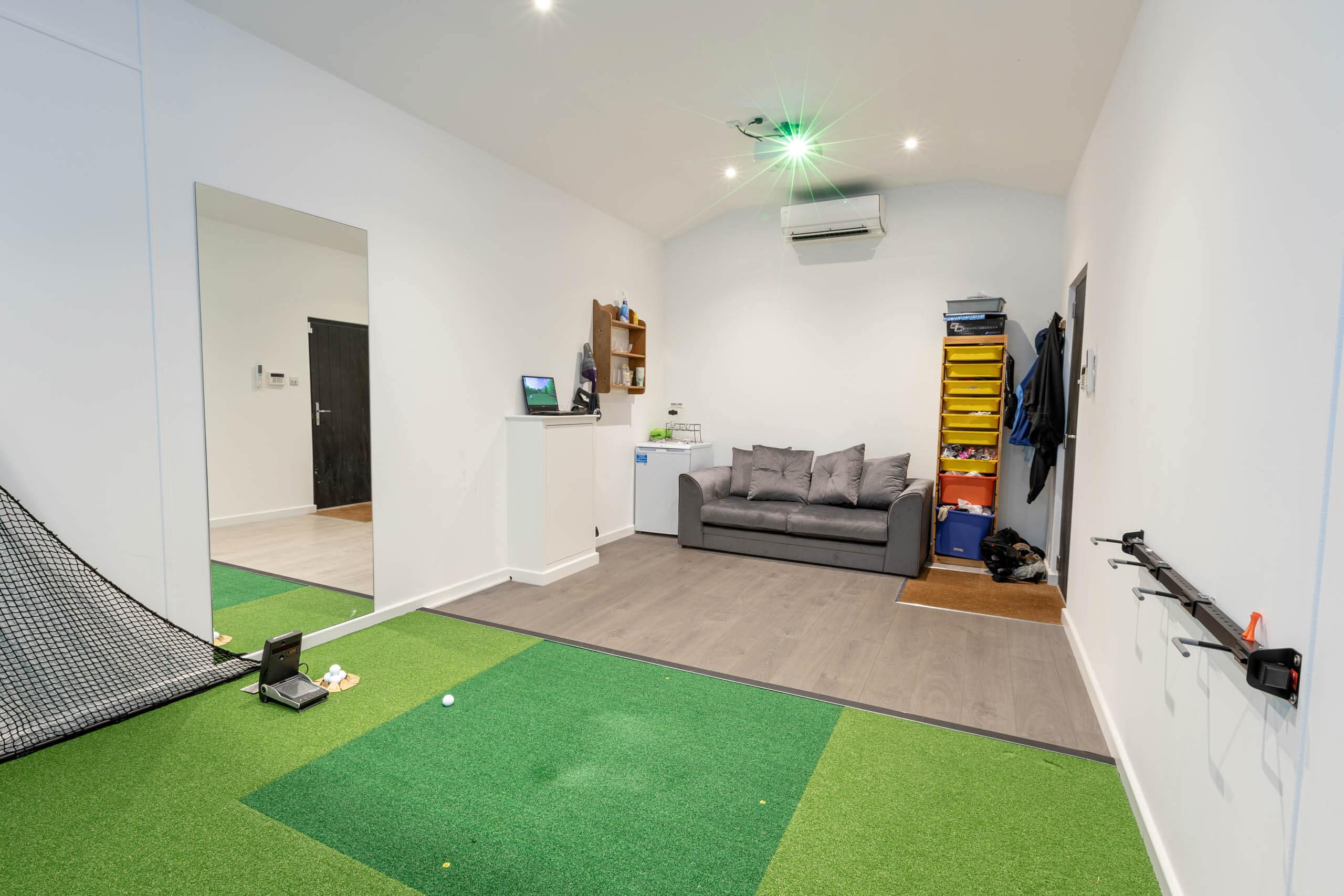 Performance Series Golf Simulator Room Angle 2